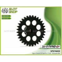 Sloting Plus SP074431 Sidewinder Spur Gear 32 Tooth x 16.8mm