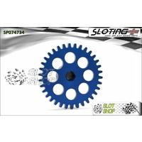 Sloting Plus SP074734 Sidewinder Spur Gear (17.5mm) - 34 Tooth