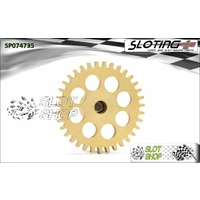 Sloting Plus SP074735 Sidewinder Spur Gear (17.5mm) - 35 Tooth