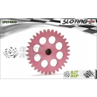 Sloting Plus SP074833 Sidewinder Spur Gear (18mm) - 33 Tooth