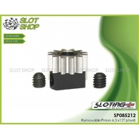 Sloting Plus SP085212 Adjustable Steel Pinion - 6.5 x 12 Tooth