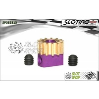 Sloting Plus SP085313 Adjustable Brass Pinion - 13 Tooth (6.7 mm)