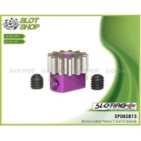 Sloting Plus SP085813 Adjustable Steel Pinion - 13 Tooth (7.5 mm)