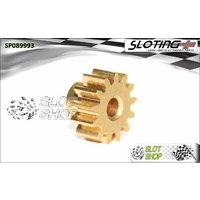 Sloting Plus SP089993 Brass Pinion - 13 Tooth (7.5 mm)