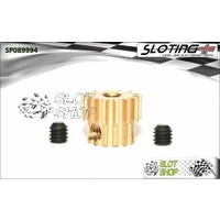 Sloting Plus SP089994 Adjustable Brass Pinion - 14 Tooth (7.5 mm)
