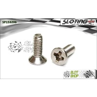 Sloting Plus SP153206 Conical Phillips Screws (M2 x 6mm)