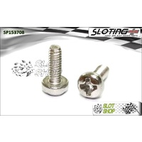 Sloting Plus SP153708 Round Head Phillips Screws (M2 x 8mm)