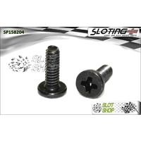 Sloting Plus SP158204 Flat Head Phillips Screws (M2 x 4mm)