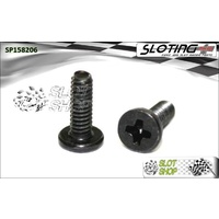 Sloting Plus SP158206 Flat Head Phillips Screws (M2 x 6mm)