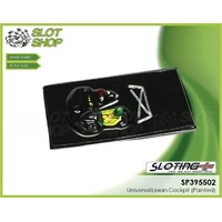 Sloting Plus SP395502 Universal Lexan Cockpit (Painted)
