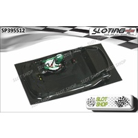 Sloting Plus SP395512 Lexan Cockpit for Scalextric Bentley Continental GT3