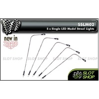 SSLM02 LED Model Street Lights (x5)
