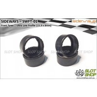 Sideways SWFT-01 Ultra Low Front Tyres (15.9 x 8mm)