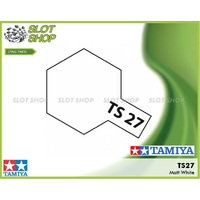 Tamiya TS-27 Matte White Spray Can (100mL)