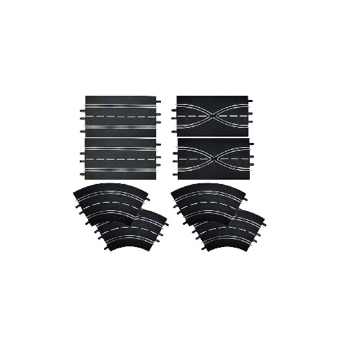 Carrera 26953 Track Extension Set 1 (8 Pieces)