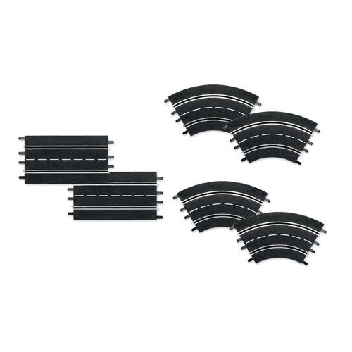 Carrera 26955 Track Extension Set 2 (6 Pieces)