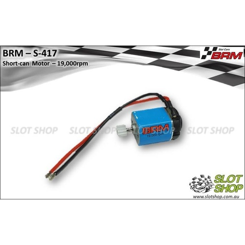 BRM S-417 Short-can Motor (19,000rpm)