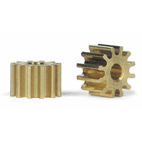 Slot.it PS12 12 Tooth Sidewinder Brass Pinion (6.5mm)