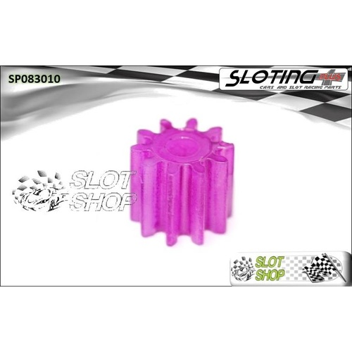 Sloting Plus SP083010 Nylon Pinion - 10 Tooth (Fine)
