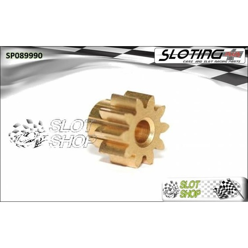 Sloting Plus SP089990 Brass Pinion - 10 Tooth (6.5 mm)