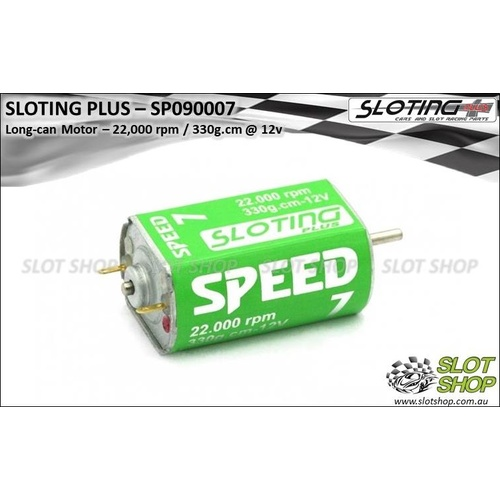 Sloting Plus SP090007 Speed 7 Motor 22,000rpm