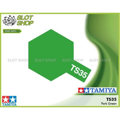 Tamiya TS35 Park Green Spray Can (100mL)