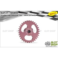 Slot.it GS1833 33 Tooth Sidewinder Spur Gear (18mm)